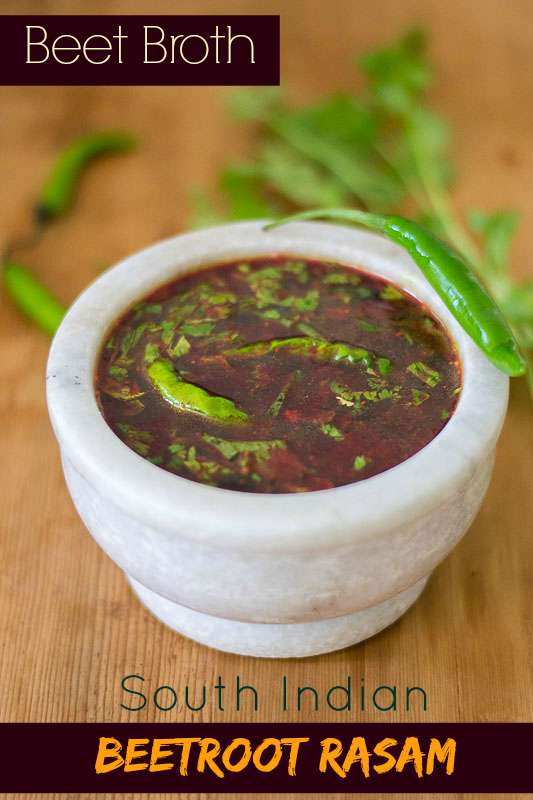 South Indian Beet Broth. Excellent cold remedy #vegan #glutenfree #broth #beet #homeremedy