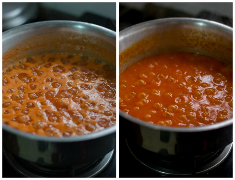 Basic-tomato-sauce-for-pasta-recipe-simmering