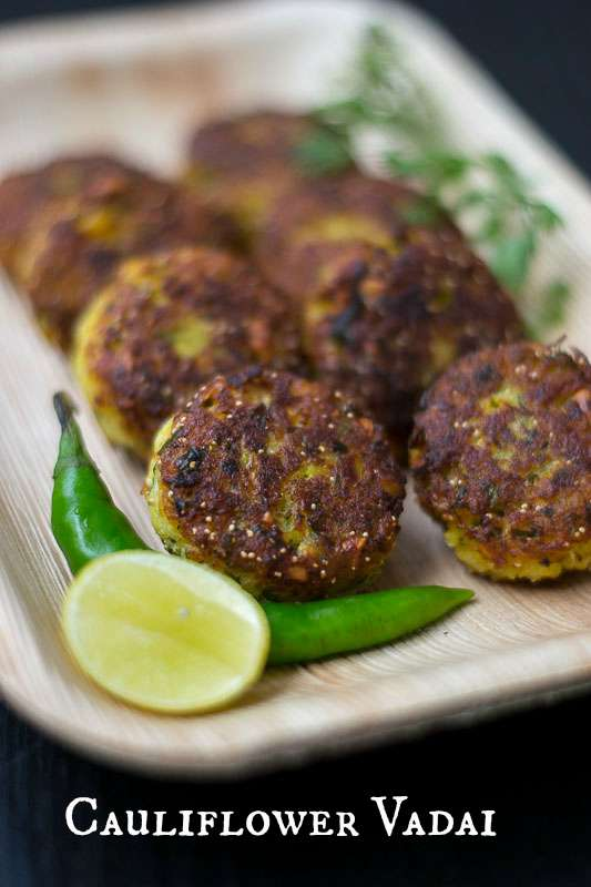 Cauliflower-vada-gobi-fritters-evening-snack-recipe-shallow-fried