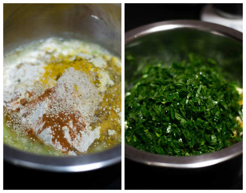 Gujarati-methi-thepla-recipe-combine