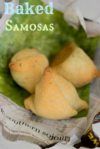 Healthy-Lite-Aarti-sequeira-Baked-Samosa-indian-recipe |kannammacooks.com #lite #recipe #classic #samosa #indian #style #potato #peas #filling #baked #version