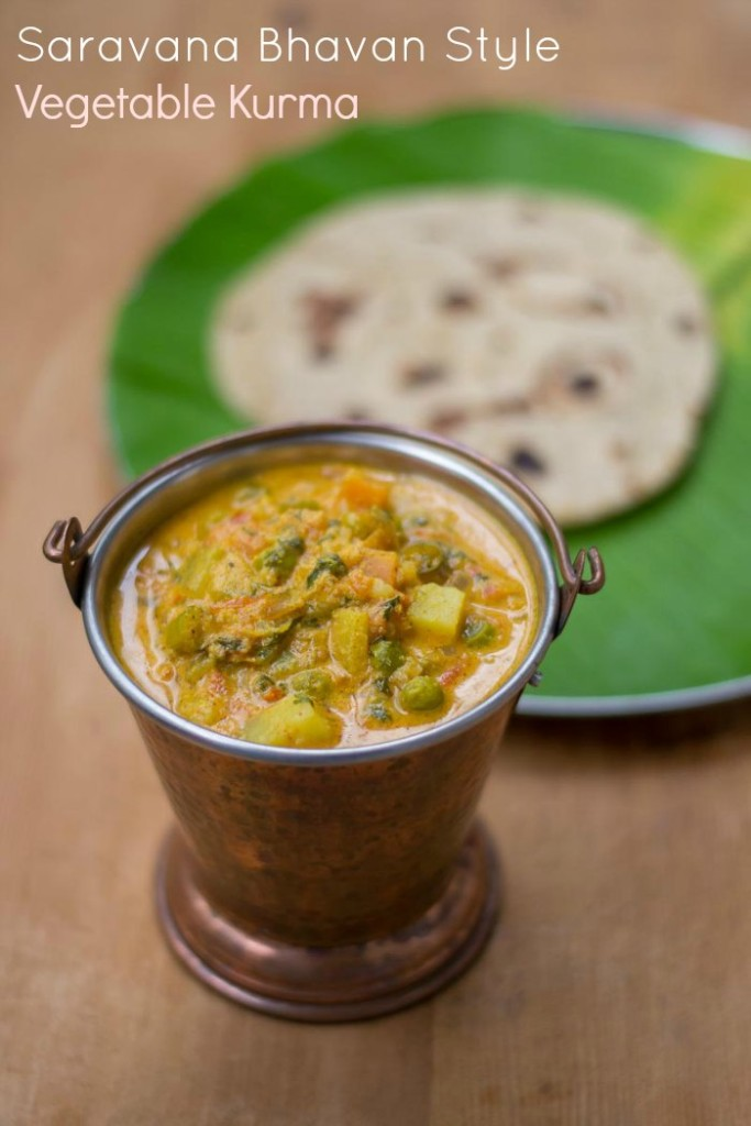 Vegetable Kurma For Chapathi Hotel Saravana Bhavan ...