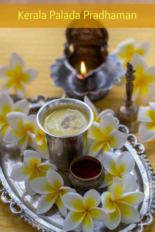 Kerala-palada-pradhaman-milk-pudding-recipe-with-condensed-milk
