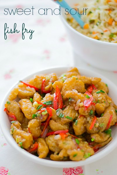 Martin-yan-chinese-style-sweet-and-sour-fish-fry-in-sauce-recipe-from-yan-can-cook-fried  kannammacooks.com #martin #yan #can #cook #wok #chinese #fish #fry # sweet #sour #chinese #style #fried