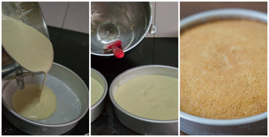 Moist-fluffy-best-simple-vanilla-cake-hot-milk-cake-indian-tea-cake-baked |kannammacooks.com #indian #tea #cake #vanilla #sponge #plain #crumb #yummy
