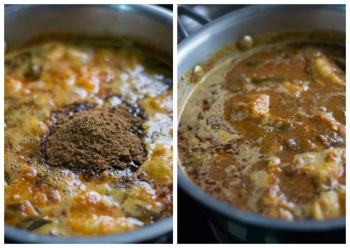 Nellore-Chepala-Pulusu-Andhra-Telugu-Fish-Curry-Recipe-finishing-powder