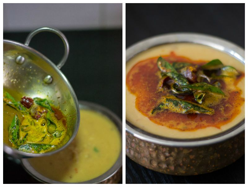 South-indian-dal-fry-add-tempering