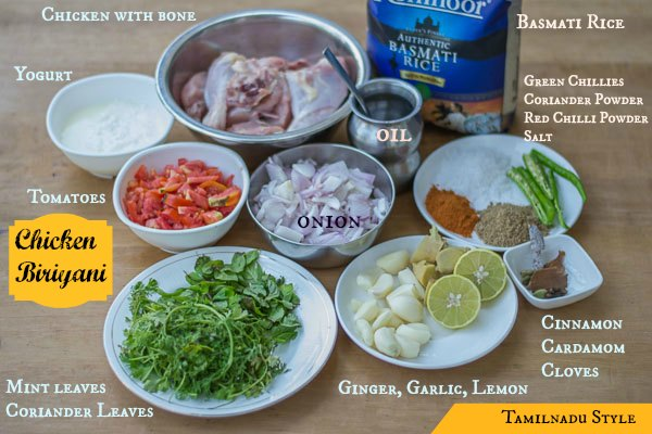Tamilnadu-muslim-chicken-biriyani-recipe-ingredients