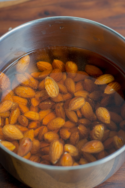 badam-halwa-step-by-step-recipe-soak