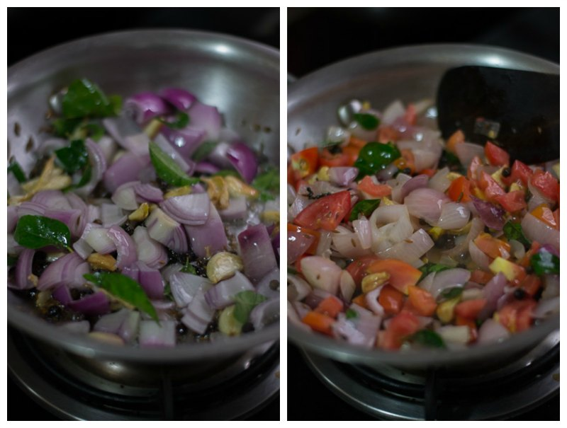 chettinad-poondu-kuzhambu-recipe-onion-tomato