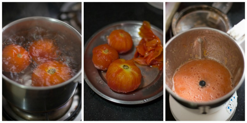 south-indian-Tomato-rasam-with-rasam-powder-garlic-tamil-recipe-peel-tomatoes