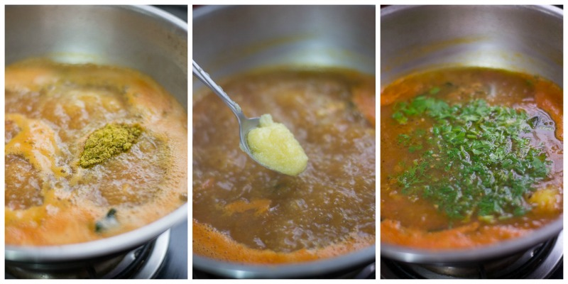 south-indian-Tomato-rasam-with-rasam-powder-garlic-tamil-recipe-seasoning