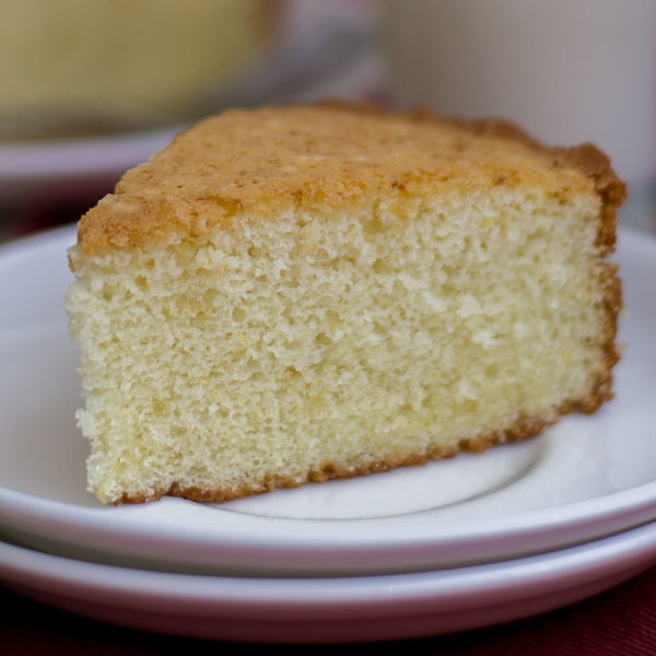 basic plain vanilla sponge cake hot milk cake moist and